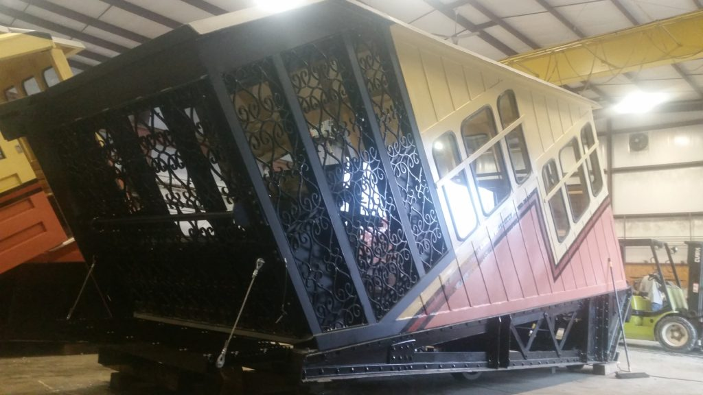 Powder Coating the Monongahela Incline